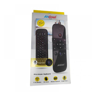 Telecomanda Wireless Air Mouse TV Box Android si PC, Andowl Q-A259
