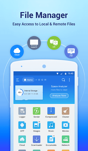 ES File Explorer File Manager 4.1.9.9 screenshots 1