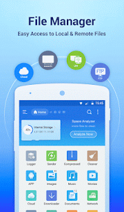 ES File Explorer File Manager Mod 4.2.2.7.3 Apk [Unlocked] 1