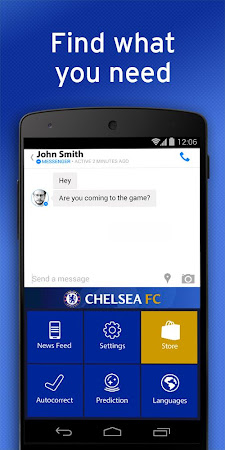 Chelsea FC Official Keyboard 3.2.47.73 screenshot 632535