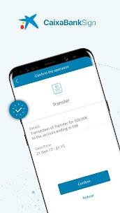 CaixaBank Sign – Digital Coordinate Card 1