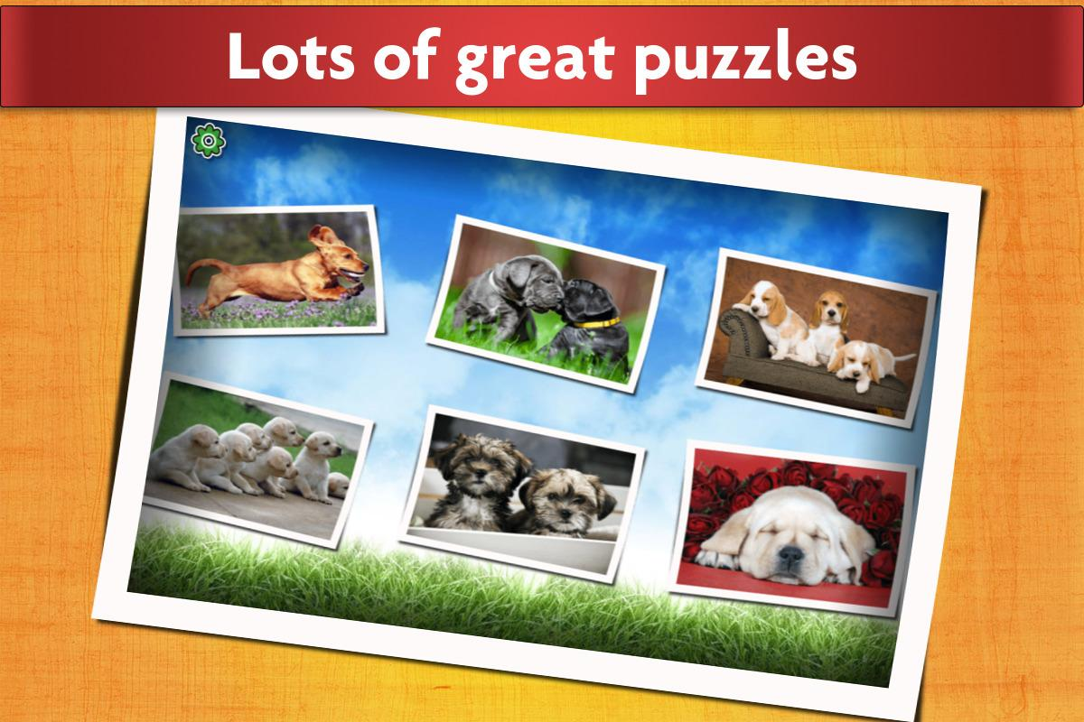 Dogs Jigsaw Puzzles Game - For Kids & Adults 🐶- screenshot