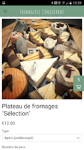 Fromagerie Conquerant- screenshot thumbnail