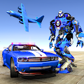 US Navy Planes Robot Car Bike - Transporter Games