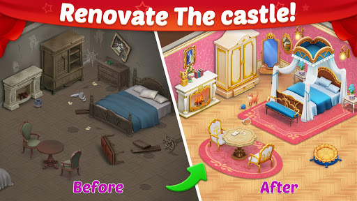Castle Story: Puzzle & Choice apkmr screenshots 1