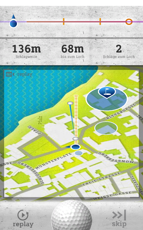 smart urban golf- screenshot