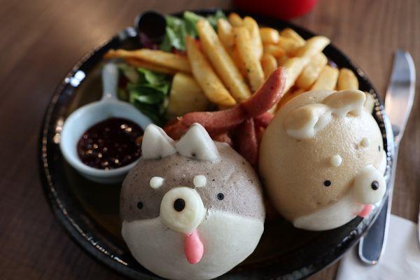 『豆弄.手作』~~超可愛柴犬早午餐讓一天心情美麗元氣滿滿!