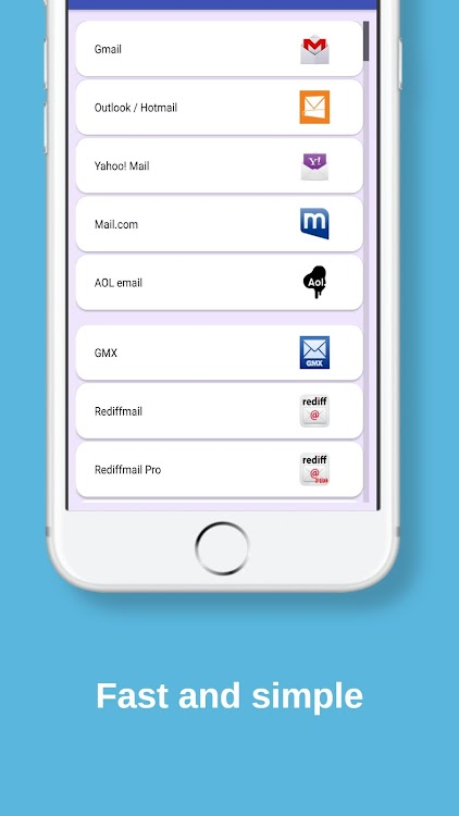 All Email Providers in One – (Android Apps) — AppAgg