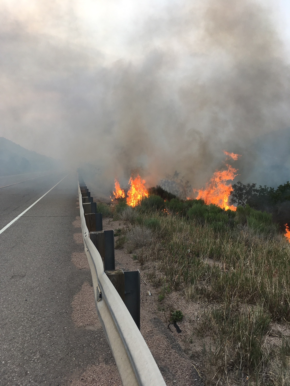 US 160/Spring FIRE UPDATE: US 160 to Remain Closed —