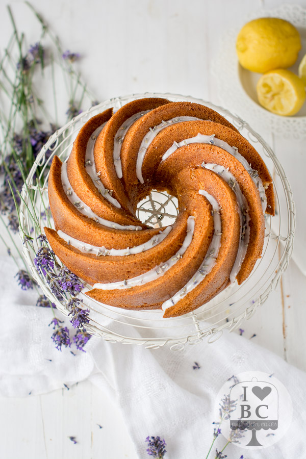 Lavender & Lemon Bundt Cake #Bundtbakers