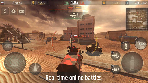 Metal Force: PvP Car Shooter  screenshots 11