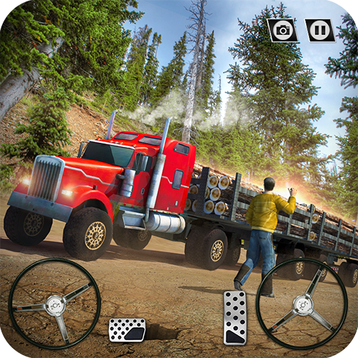 USA Truck Driving School: Off-road Transport Games