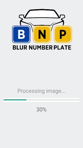 لالروبوت BNP - Blur Number Plate Pro تطبيقات screenshot
