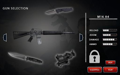 Code Triche Rage cible bataille: Gratuit Sniper Jeux Counter APK MOD screenshots 3