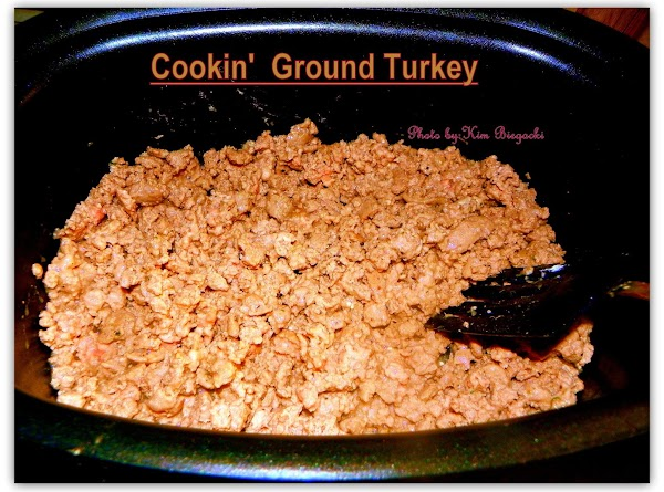 Place ground turkey and onions into pot. Set on STOVETOP HIGH. Cook uncovered 5...