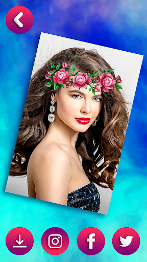Flower Crown Photo Editor - Snappy Photo Filters  screenshots 8