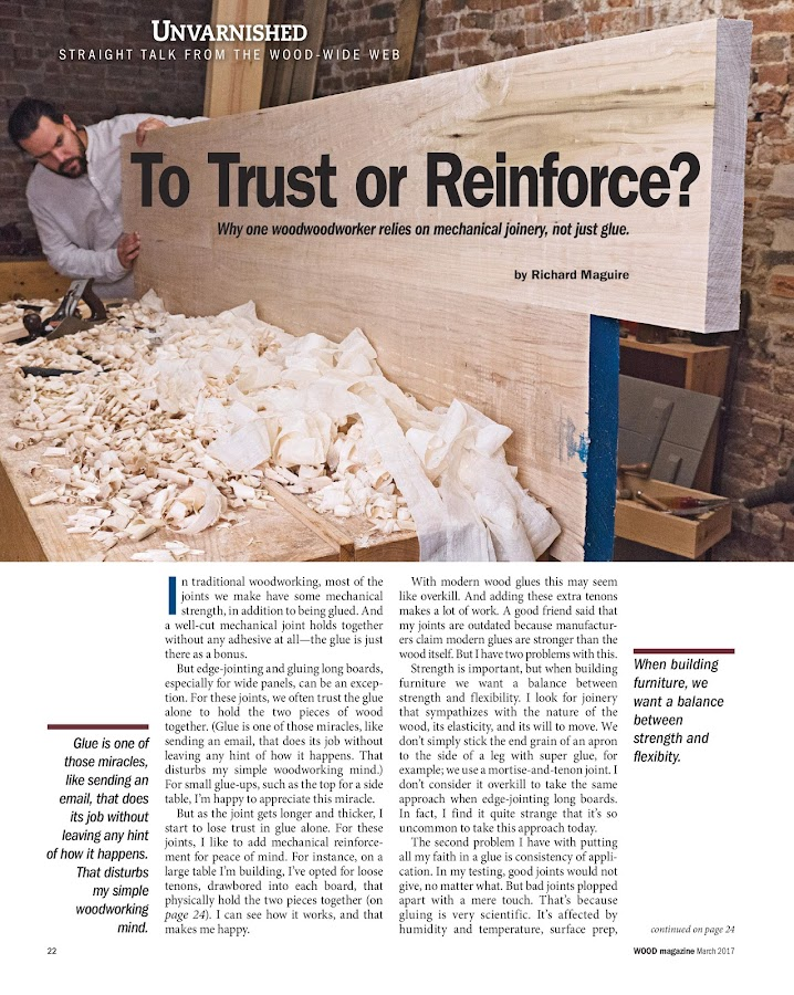 WOOD Magazine- screenshot