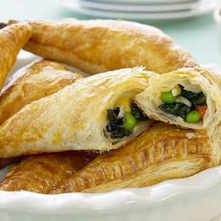 Cheese and Vegetable Turnovers.
