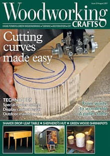 Woodworking Crafts Magazine- screenshot thumbnail