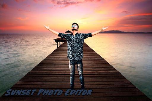 Sunset Photo Editor screenshot 3