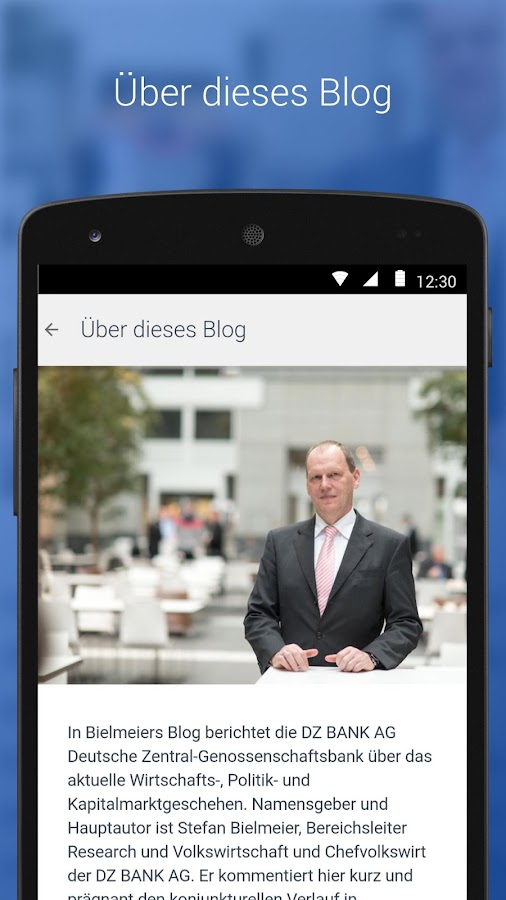 Bielmeiers Blog- screenshot