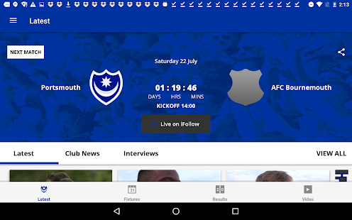 Portsmouth Official App- screenshot thumbnail