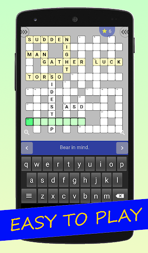 English Crossword puzzle 1.2.5 screenshots 1