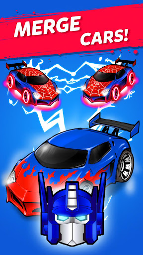 Merge Battle Car: Best Idle Clicker Tycoon game 2.0.2 pic 1