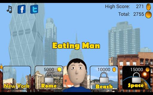 Eating Man Full