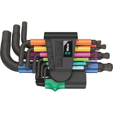 Wera 950/9 Hex-Plus Multicolour 2 L-key set, metric, BlackLaser