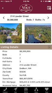 Vogt Realty Group Home Search- screenshot thumbnail