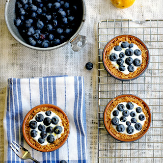 Low Fat Blueberry Tartlets
