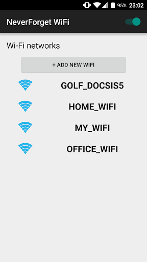 NeverForget WiFi - AutoConnect