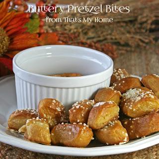Buttery Soft Pretzel Bites.