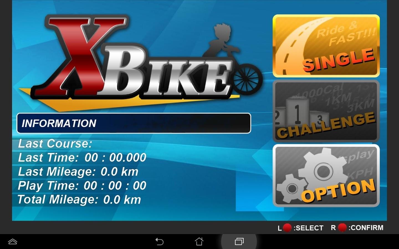 XBIKEGameBike-Version 21