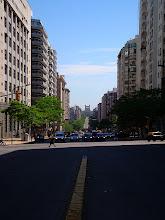 Photo: Montevideo - looking up Av Libertador