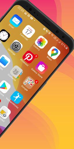 Launcher iOS 14 screenshot 5
