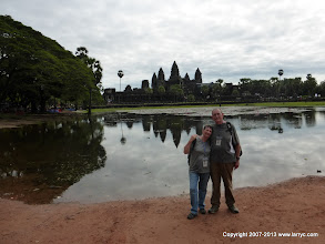 Photo: The classic view of Angkor Wat