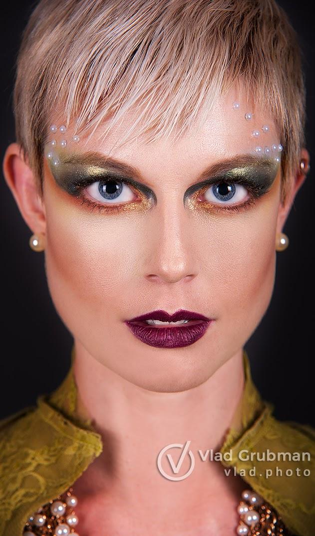 Creative Makeup Headshot - Photography by Vlad Grubman / ZealusMedia.com