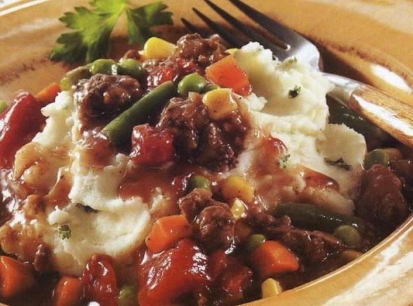 Red Wine Beef Stew With Horseradish Mashed Potatoes Recipe