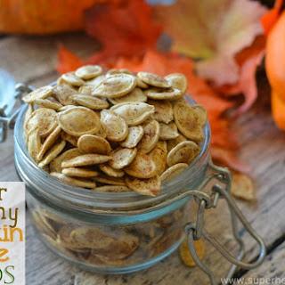 Super Crunchy Pumpkin Spice Seeds