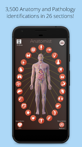 Anatomist screenshot for Android