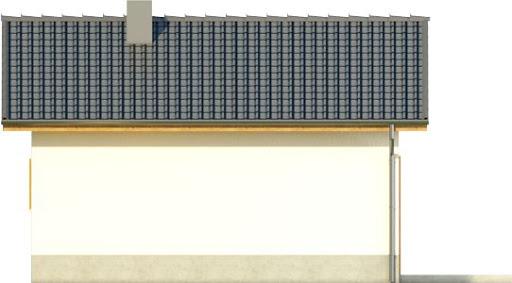 Domek 5 - Elewacja tylna