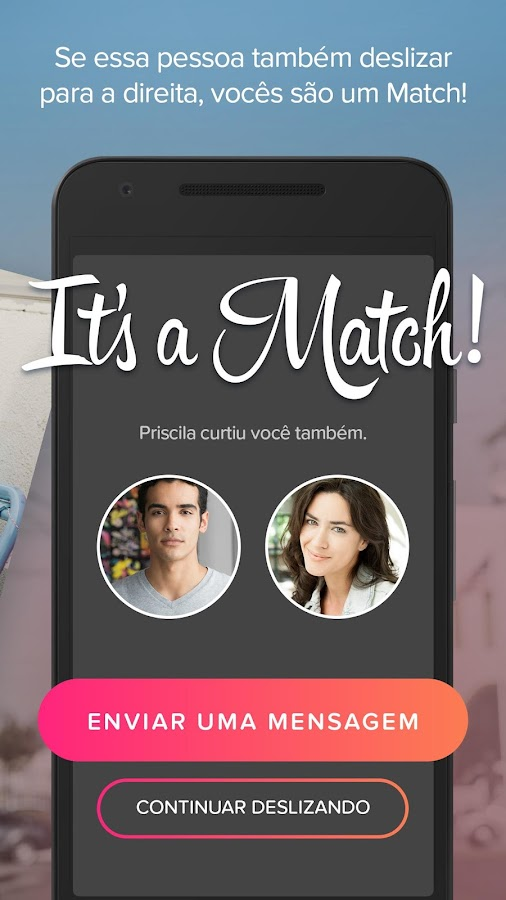Tinder: captura de tela