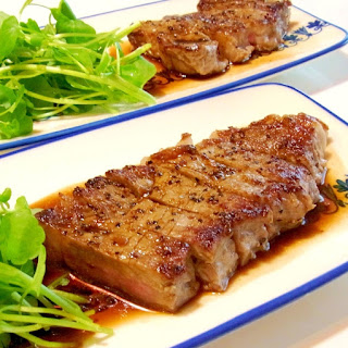 Simple Japanese-style Steak Sauce