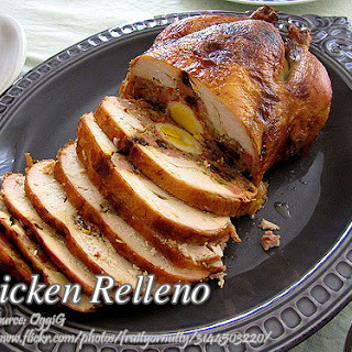 How to Cook Chicken Relleno (Rellenong Manok).
