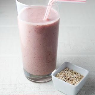 Strawberry Oatmeal Smoothie.