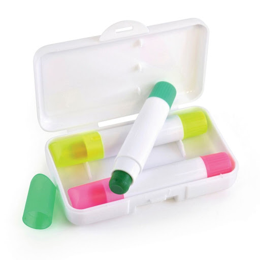 Crayon Highlighter Pen Set