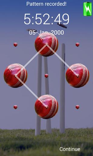cricket pattern screen lock
