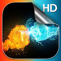 Fire and Ice Live Wallpaper HD icon